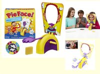 Wholesale Korea Running Man Pie Face Parent child games Cream on her face hit the send machine paternity Toys rocket catapult game Party toy
