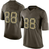 Wholesale 2015 New Salute To Service Men s DC Dez Bryant Green Salute To Service Limited Jerseys Football Jerseys