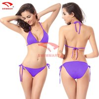 Wholesale Swimsuit Bikini Bikini manufacturers Spot color candy color burst models DM005 loss Rush