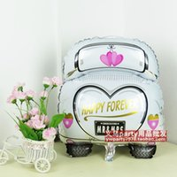 Wholesale BB017 quot Wedding Car Balloons Decorative Foil Balloon for Wedding Party Decoration Mr Mrs