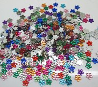 Wholesale 1000Pcs Acrylic Mixed Flower Flatback Cabochon Scrapbook mm Fit Phone Embellishment