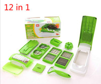 Wholesale Hot Set Vegetable Fruit Multi Grater Peeler Cutter Chopper Slicer Precision Cutting Multi Function Kitchen Cooking Tools DHL Free