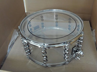 drum - All Brand New Acoustic Acrylic Snare Drum x6 Clear Red Blue Orange Light Green colors available