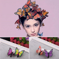 Wholesale Colorful Butterfly Kids Accessories Hairpins Children Accessories Baby Hair Accessories Hair Clips girls wedding accessories