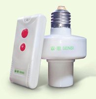 Wholesale 2015 New Style Wireless Remote Control Lamp Holder V E27