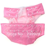 Wholesale pink double rows snap button adult cloth diaper adult nappy hot sale adult pants double leg gusset diaper