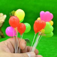 Wholesale diy model design material doll house mini balloon Siwan Beach Plaza micro landscape shooting props