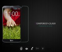 Wholesale 0 mm D H Tempered Glass Screen Protector Protection Film Guard Anti shatter for LG G3 D855 ZE