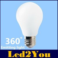 Wholesale E27 Led Bulbs W W W W Led Lights Degree Led Globe Lamps SMD High Lumens Led Spotlights AC V