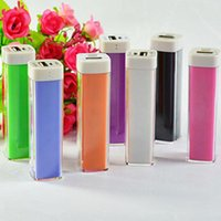 Wholesale mah Lipstick Power Bank External Battery Pack Powerbank Portable Charger