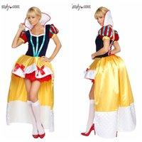 Wholesale Deluxe Edition Snow White Halloween clothes clothes role playing games fairy costume dress uniforms temptation