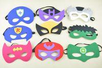 Wholesale Superhero Felt Superhero Mask batman Superhero Cape for Halloween