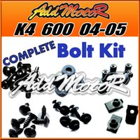 Wholesale Addmotor Pieces Set Black Complete Fairing Bolt Kit Body Screws Fasteners For Suzuki GSXR600 K4 GSXR K4 S64S