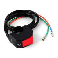 Wholesale 1pcs Black Motorcycle Fog Light Switch quot Handlebar v DC Electrical System Hot Worldwide