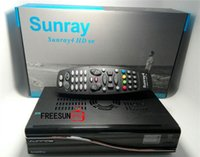 Single digital tuner - digital hdtv tv box hd receiver satellite Sunray4 HD SE tuners DVB S S2 C T with wifi