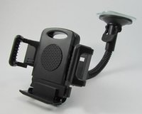 Cheap DHL Universal Windscreen Car Mount Holder Adjustable Width Windshield Cradle For Samsung Galaxy Note 3 iPhone 5 5G 4 4S HTC all Cell Phone