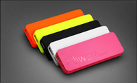 battery backups dc - Portable Powerbank mAh V DC USB External Backup Battery Charger Slim Power Bank Multicolor For Smartphone