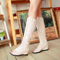 rubber boots - 2015 New Arrival Steel Tube Dancing Shoes Summer Boots Hollow Boots for Woman Open Toes Inside Steal Heel Anti Rubber Outsole