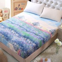 Wholesale Bed Fitted Sheet Twin Full Queen Size Bedspread Protection pad Mattress Cover Sheet