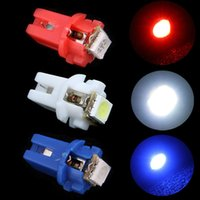 Wholesale 10PCS T5 B8 D SMD Car LED Indicator Light Led Lamp Gauge Speedo Dashboard Side Interior Lamp