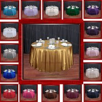 Wholesale Satin Tablecloth For Wedding Event amp Party amp Banqet Decoration Chair Cover amp Chair