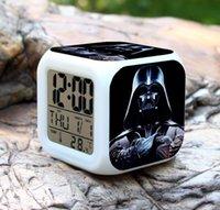 Wholesale Hot Anime Toys Hobbies Star Wars Chirldrens Classic Toys Movie TV Star Wars Lightsaber Clock Star Wars Figure for