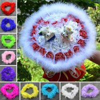 Wholesale Hot Sales Festive Party Cosplay Supplies Marabou Feather Boa For Fancy Dress M JI9