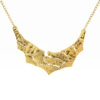 ancient pendant - 2016 New Foreign necklaces Trade ancient gold silver Debris pattern Explosion Models big European and American Fashion Necklace Factory Dire