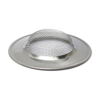 Wholesale New Arrvial PC Stainless Silver Sink Strainer Food Mesh Trap Plug Hole Cover Filter Sieve Excellent Quality