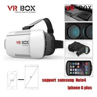 Wholesale 3D glass Christmas Google Cardboard Original xiaozhai Brand VR BOX Virtual Reality D Glasses for inch phone