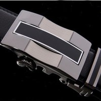 Wholesale Belt new arrival men automatic buckle brand designer leather belts for business men which high quality and luxury for man