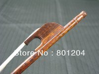 Wholesale strong Professional snakewood violin bow size