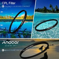 Wholesale High quality Filters mm Digital Slim CPL Circular Polarizer Polarizing Glass Filter for Canon Nikon Sony DSLR Camera Lens