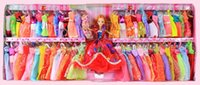 Wholesale girl doll Barbie doll suit children s toys Gift Box Set Princess Barbie