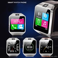 Wholesale Wearable Aplus GV18 Smart Watch Phone quot Bluetooth Smartwatches Support NFC MP Camera Sync Call SMS for iphone Samsung Android
