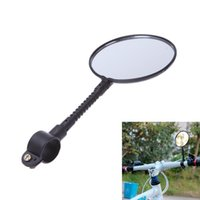 Wholesale Handlebar Mount Rear View Rearview Mirror for MTB Road Bike Bicycle Black Flexible Universal Reflective