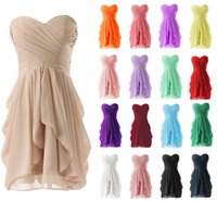 Cheap Sexy Cocktail Dresses 2015 Cheap Sleeveless Ruffle Short Mini Unique Backless Lace Up Chiffon Party Dresses Formal Evening Gowns In Stock YX