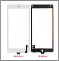 Wholesale High quality For iPad Air Touch Screen Digitizer with adhesive Free DHL Shipping
