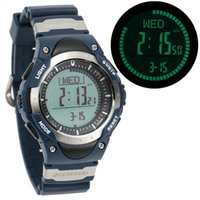 altimeter compass watches - SUNROAD ATM Waterproof Altimeter Compass Stopwatch Fishing Barometer Pedometer Outdoor Sports Watch Multifunction Y2228