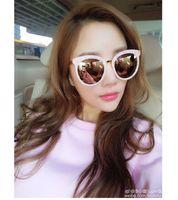 beautiful eyeglasses frames - 2016 Fashion Trend Korean Style Sunglasses Beautiful Shades Women Sunglass Female Eyeglasses Brand Design Eyewear UV400 Protection Glasses