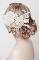 Wholesale Bridal Headwear Wedding hair accessories Manual Pearl Set Hair Photo Wedding dress Accessories