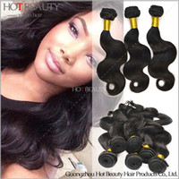 brazilian body wave hair - Grade A Brazilian Indian Peruvian Malaysian Mongolian Virgin Remy Body Wave Hair Brazilian Hair Weave