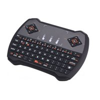 air free computer mouse - Wireless Mini R6 Keyboard Air Mouse for TV Box Computer USB Gaming Keypad Russian Spainish Hebrew English Version