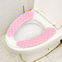 Wholesale Toilet Seat Covers Dot Paste toilet potty pad sleeve warm velvet toilet mat toilet seat attached to an available health