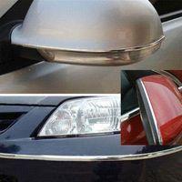 Cheap 15M x 25mm Silver Car Auto Window Bumper Grille Chrome DIY Moulding Trim Strip M5066