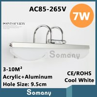 acrylic kitchen tops - Top Quality Cool White LED SMD AC85 V CE ROHS W Acrylic Aluminum Wall Decor Living Room Kitchen Bedroom Led Wall Light