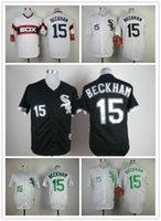 beckham white sox - men Baseball Jerseys Chicago White Sox beckham black white stripe stitched baseball jersey