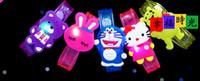 Wholesale Children s cartoon luminous bracelet led luminous wrist watch nursery toys for boys and girls birthday gift