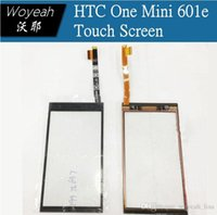 Wholesale FREESHIPPING Front Outer Lens Glass Capacitive Touch Screen For HTC One Mini e M4 sensor HD Assemble panel
