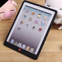 Wholesale Tablet Cases For iPad Soft Gel Rubber Silicone Back Skin Waterproof Durable Ultra Slim Cover Protective Shell
